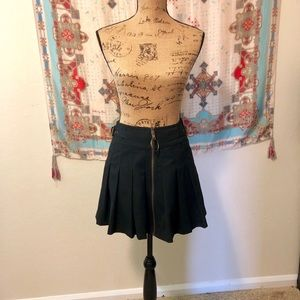 Betsey Johnson Pleated Mini Skirt 4